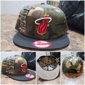 Miami Heat New Era 9fifty NBA snapback hat